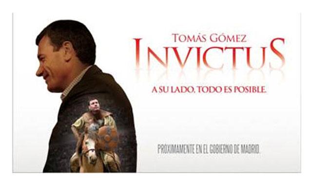 Imagen del cartel que ha hecho el PSM con su candidato regional, Tomás Gómez. | ELMUNDO.es