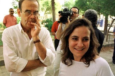 Resurrección Galera, con su marido, en una imagen de archivo. | EM