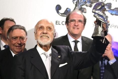 Francisco Nieva tras recibir el premio Valle-Inclán de teatro. | Efe