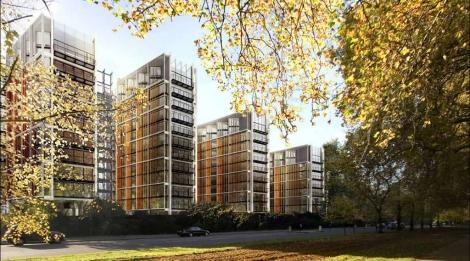 One Hyde Park, en Londres, ha sido diseñado por Sir Richard Rogers. | Candy & Candy