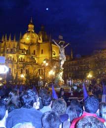 Plenilunio y Semana Santa en Segovia.   Pelayo2