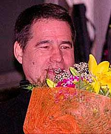 Antonio Troitiño, tras ser liberado.