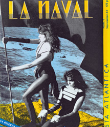 Portada del fanzine La Naval.