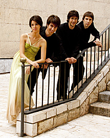 El cuarteto Gerard, cuatro jóvenes con una larga experiencia como solistas y músicos de cámara.