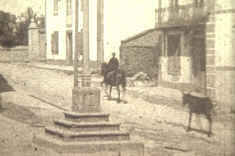 Escena de uno de los filmes, localizado en Buño (A Coruña).