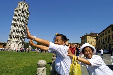 Foto de archivo (2001) con una de las imagenes más repetidas por los turistas. | Ap