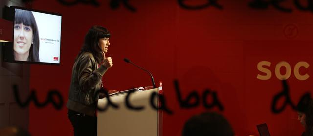 Núria Parlón accedió al cargo cuando imputaron a Bartomeu Muñoz.   Quique García