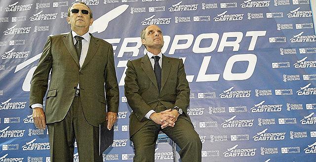 Carlos Fabra y Francisco Camps, imputados por presuntos delitos de corrupción. | Eugenio Torres
