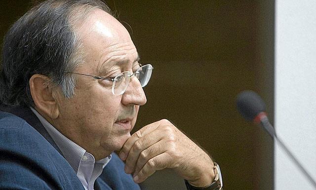 El alcalde de Baena, Luis Moreno Castro. | Madero Cubero