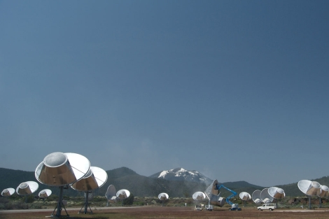 Antenas del Telescopio Allen, situado en California. | C. G. K.