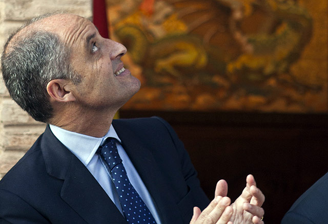 El presidente de la Generalitat, Francisco Camps. | Vicent Bosch