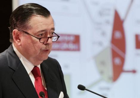 El consejero delegado del Banco Santander, Alfredo Sáenz. | Sergio Barrenechea