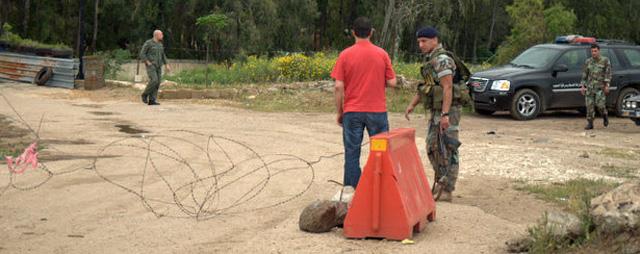 El puesto fronterizo entre Siria y el Líbano en Buqaya. | Mónica G. Prieto
