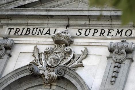 Fachada del el edificio del Tribunal Supremo en Madrid. | Alberto Di Lolli
