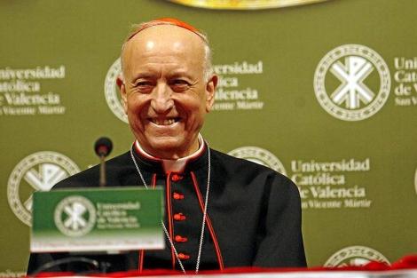 El cardenal García-Gasco durante el Congreso del Santo Grial en Valencia | J.Cuéllar