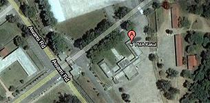 Imagen del lugar donde estaba Osama. Google Maps