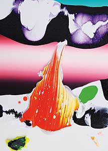 Yago Hortal . 'KL 13', 2011. Acrílico sobre lienzo. 40x30 cm.