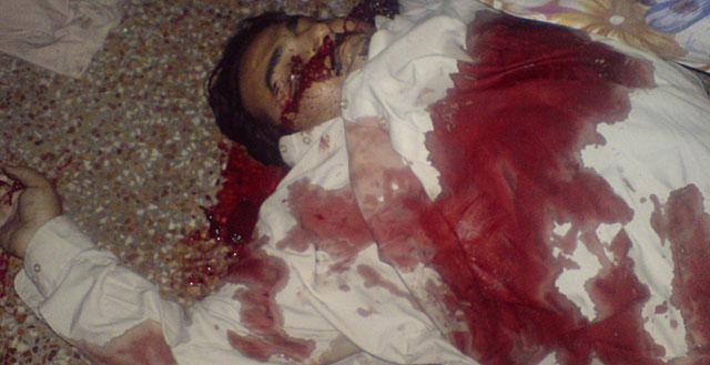Imagen de uno de los hombres abatidos en la casa de Bin Laden. | Reuters VEA MÁS IMÁGENES DE LA OPERACIÓN