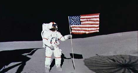 Shepard viajó a la Luna en 1971 como comandante del Apolo 14. | AFP.