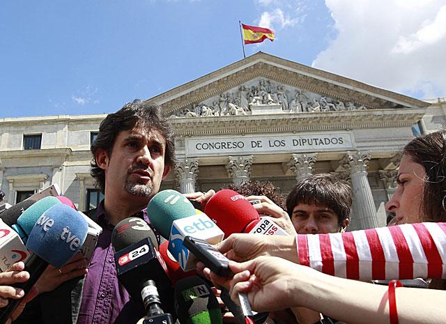 Pello Urizar, actual secretario general de Eusko Alkartasuna. | Foto: Reuters