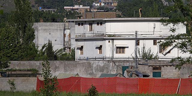 Residencia en la que, supuestamente, Osama bin Laden ha pasado los últimos años.   AP