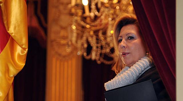 María Antònia Munar, ex presidenta del Parlamento balear. | Pep Vicens