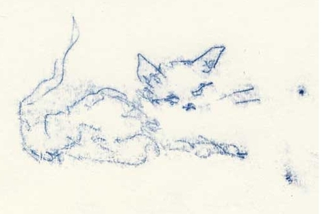 Tracey Emin cambió su 'Super Loving Cat' (2007) por 30 horas de clases de francés.