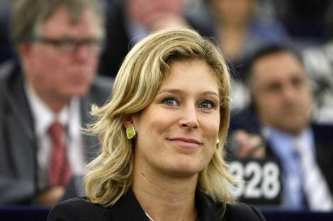Silvana Koch-Mehrin, en el Parlameto Europeo.| Reuters