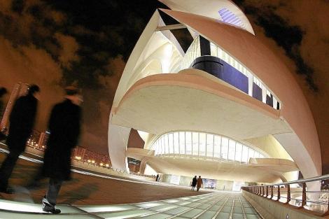 El Palau de les Arts Reina Sofía de Valencia. | José Cuéllar