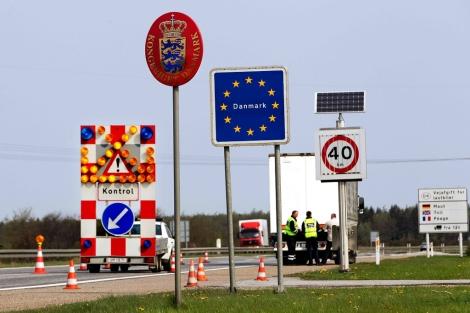 La frontera danesa, en una imagen de archivo. | AP