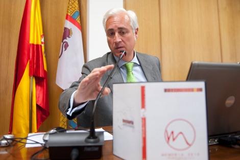 El presidente del TSJCyL, José Luis Concepción. | Ical