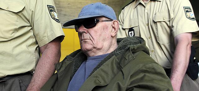 John Dejanjuk, durante una de las sesiones del juicio. | Ap