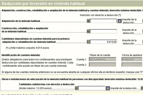 Página del Anexo A.1 de la Declaración del IRPF donde se debe incluir el gasto en seguros. | ELMUNDO.es