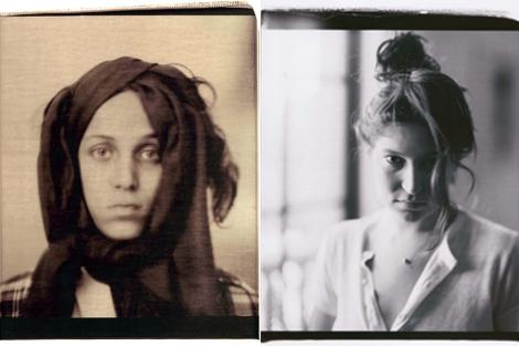 Dos de sus retratos.