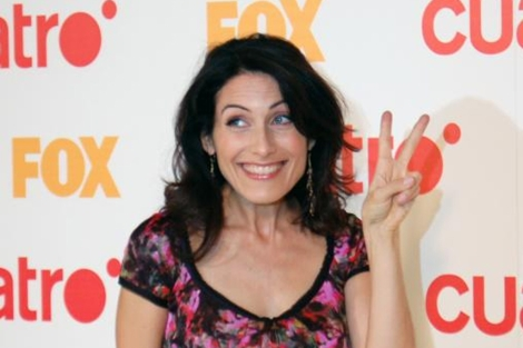 La actriz Lisa Edelstein que interpreta a la doctora Cuddy en 'House'
