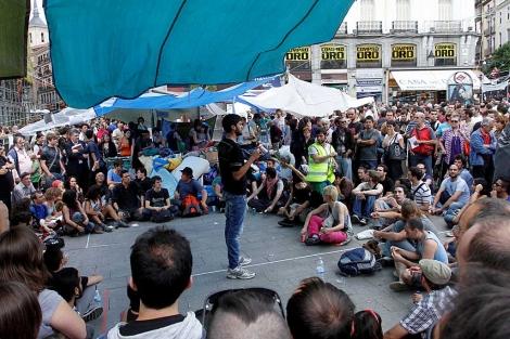 Acampados en la Puerta del Sol. | Diego Sinova