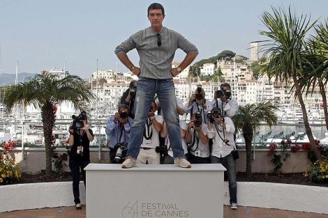 Antonio Banderas, durante la presentación de 'La piel que habito' | Más imágenes