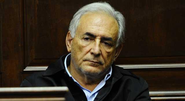 Dominique Strauss-Kahn, durante el juicio en la Corte de Manhattan. | Afp