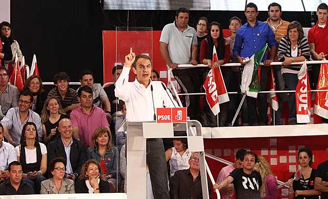 Mitin de Zapatero en Cáceres. | Inma Mesa