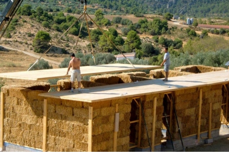 Casa de paja en Teruel | | Efe