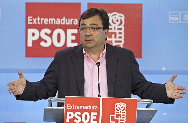El presidente de la Junta de Extremadura, Guillermo Fernández Vara. | Efe