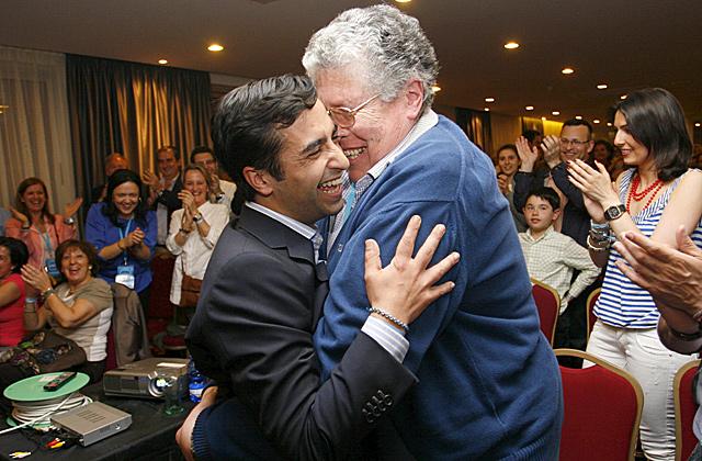 José Manuel Rey, la gran revelación de las urbes gallegas. | Efe