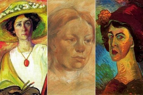 Gabriele Münter, María Franck y Marianne von Werefkin.