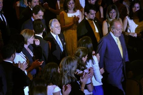 Los Reyes en la entrega de despachos a la nueva generación de jueces   Santi Cogolludo