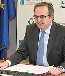 El director del Igape, Joaquín Varela de Limia. | Xunta