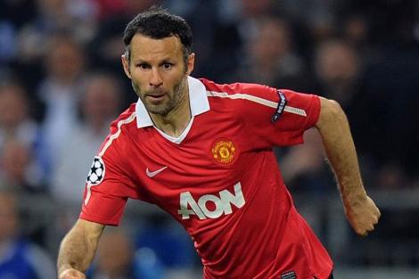 El futbolista del Manchester United Ryan Giggs.   Afp