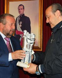 Orozco, alcalde de Lugo, junto a Dorribo.