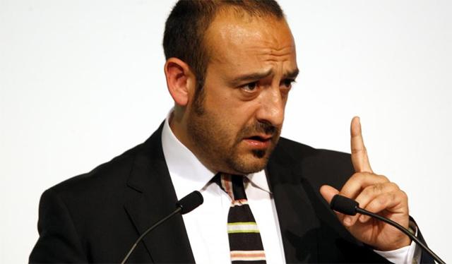 El candidato a la Alcaldía de Barcelona, Jordi Cañas. | Antonio Moreno