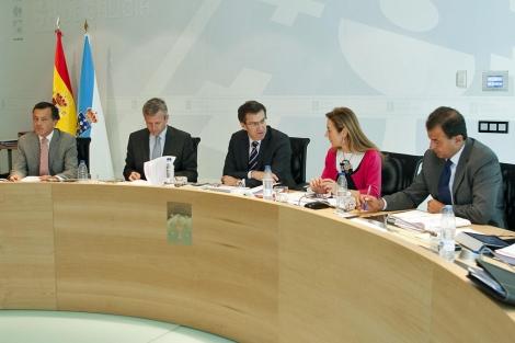 Reunión del Consello de la Xunta, este jueves, previa a la comparecencia de Feijóo. | Xunta