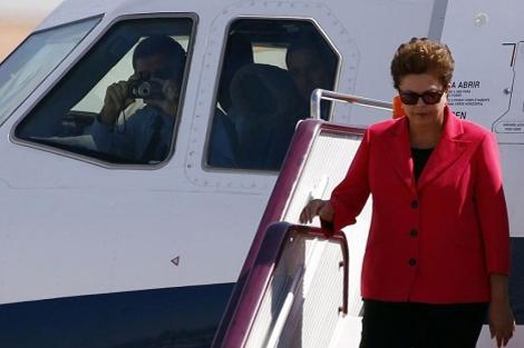 La presidenta Dilma Rousseff en su viaje a China | Reuters